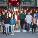 Concursantes de la fase nacional del Concurso Hispanomericano de Ortografía