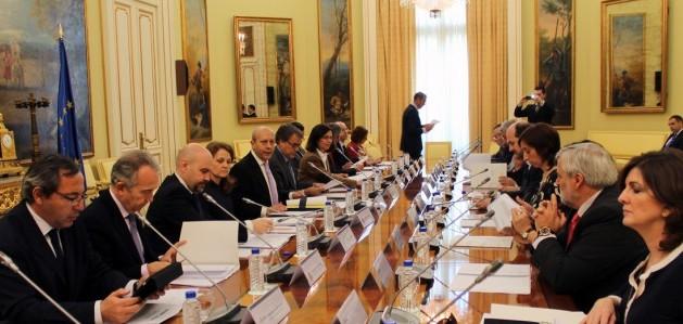 Reunión del FORO en el Ministerio de Educación, Cultura y Deporte