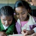 Clase de niños en Etiopia