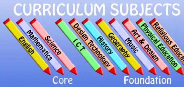 Curriculum Subjects