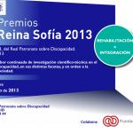 Portada Convocatoria de Premios Reina Sofía 2013
