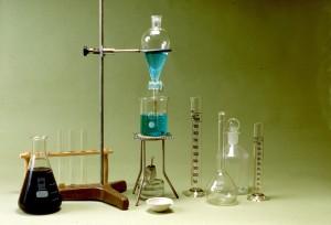 Laboratorio de química de Educación Primaria
