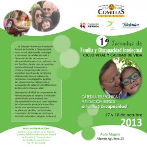 Portada Jornadas Familia y Discapacidad