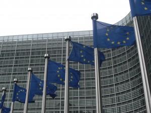 Banderas de la Comisión Europea