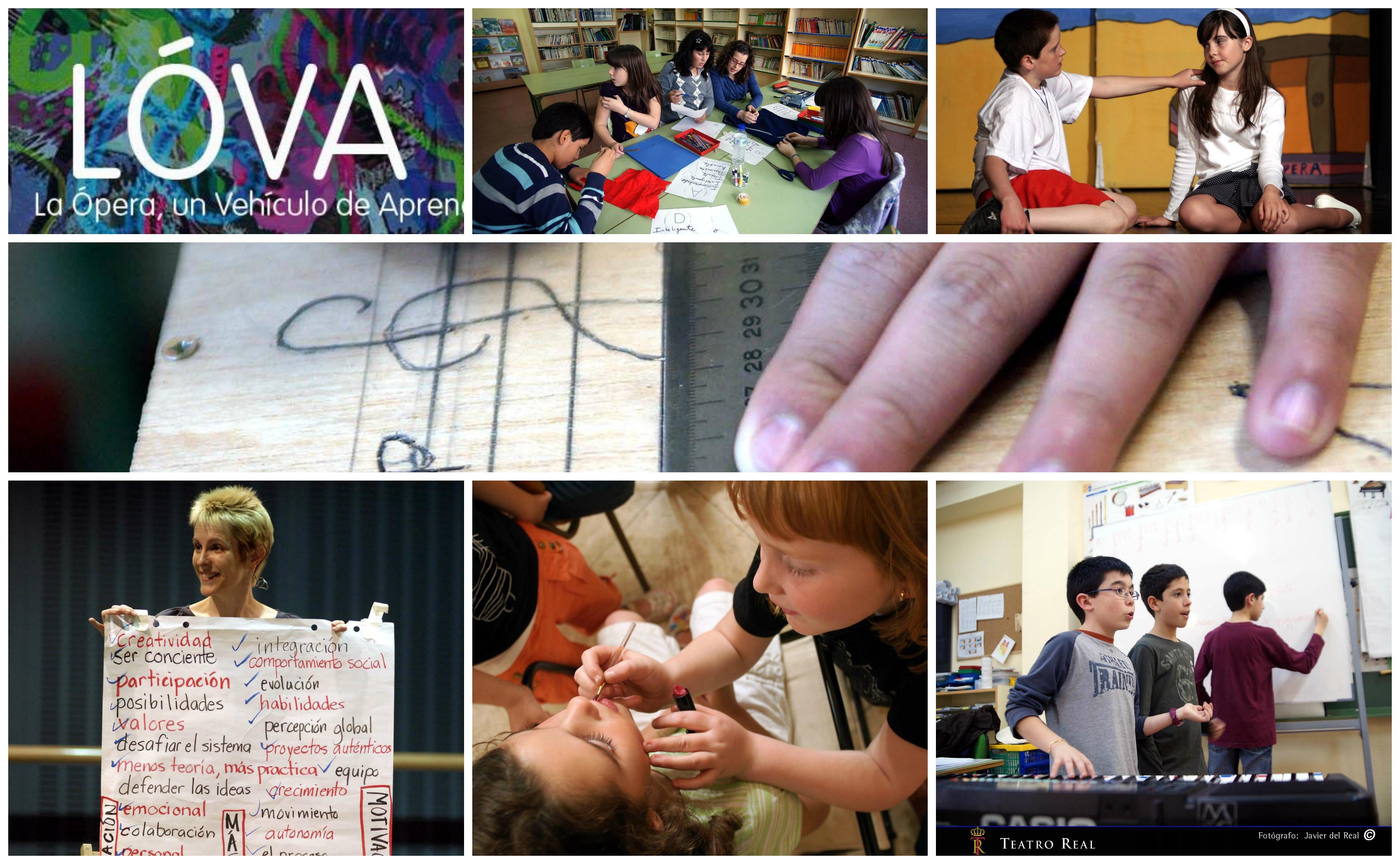 LOVA collage