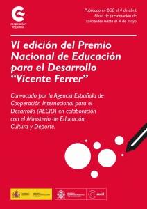 Cartel Premio AECID MECD
