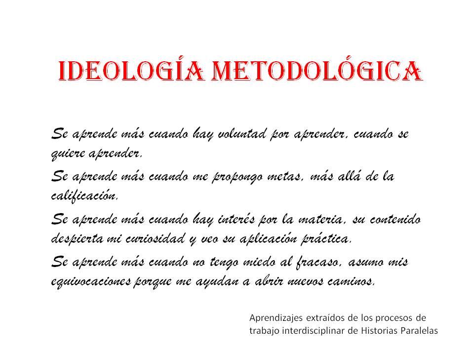 Ideología metodológica def