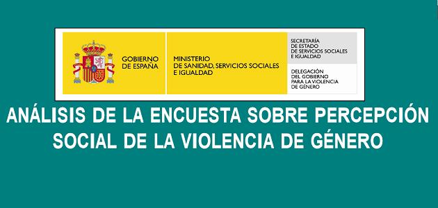 Percepción Social de la Violencia de Género