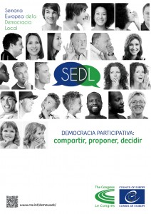 poster de la Semana de la Democracia 2014
