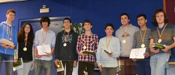Ganadores XXVI Olimpiada Nacional de Física