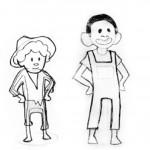 guia didáctica_trailer libro_bocetos personajes