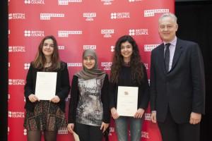 Ganadores y Embajador UK