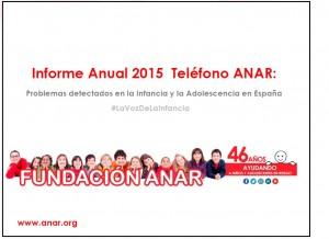 Informe 2015 ANAR