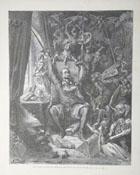 Don Quijote de Gustave Doré. Fuente: Banco de Imágenes del Quijote.