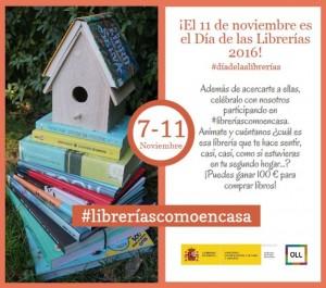 """Campaña """"Librerías como en casa"""""""