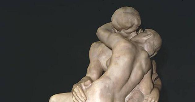 El beso Rodin. Museo Rodin