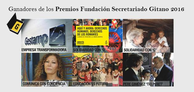 Premios fundación secretariado gitano