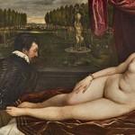 """""""Venus recreándose en la música"""". Tiziano, Vecellio di Gregorio Copyright de la imagen ©Museo Nacional del Prado"""
