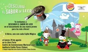 Burger King y Alfaguara Paraguay