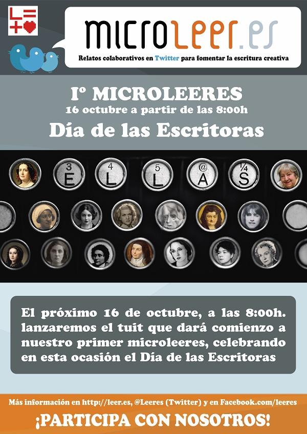 Infografía Microleeres Día de las Escritoras