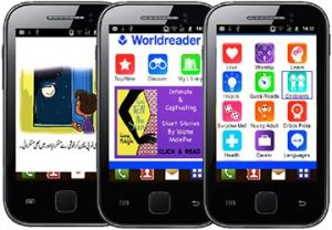 Imagen Worldreader móviles aplicación