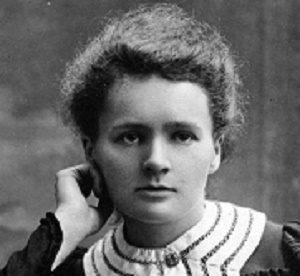 Retrato de Marie Curie