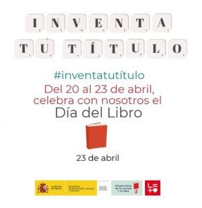 cartel campaña #inventatutítulo