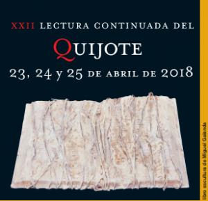 Lectura continuada Quijote