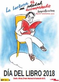 Cartel Día del Libro Observatorio de la Lectura y el Libro.
