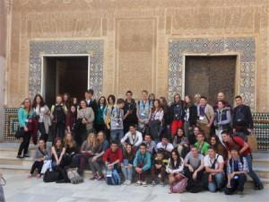 foto_grupo_SMILIE_visita_Granada