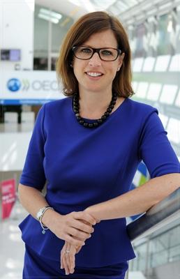Retrato: Kristen Weatherby, Senior Analyst, EDU/ECS, OECD.