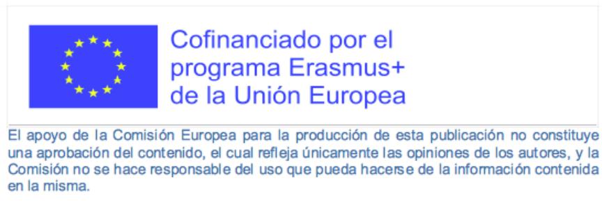 logo Cofinanciado por Programa Erasmus +